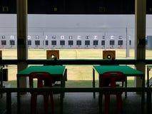Galleria di fucilazione in bianco Fotografia Stock Libera da Diritti
