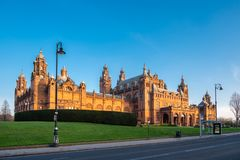Galleria di Kelvingrove & museo Glasgow fotografia stock libera da diritti