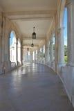 Galleria di marmo fredda fotografia stock