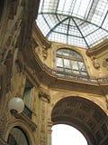 Galleria di Milano Immagini Stock
