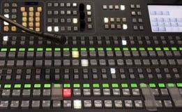 Galleria di radiodiffusione della televisione Immagini Stock Libere da Diritti