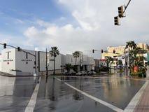 Galleria di T all'intersezione della strada del Guam fotografia stock