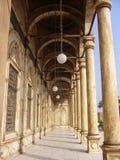 Galleria di una moschea Fotografia Stock