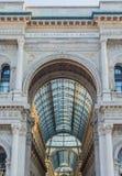Galleria di Vittorio Emanuele di Milano Immagini Stock