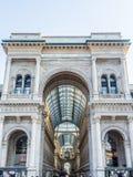 Galleria di Vittorio Emanuele di Milano Fotografia Stock Libera da Diritti