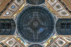 Galleria di Vittorio Emanuele II - Milano, Italia immagine stock libera da diritti