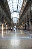 Galleria di Vittorio Emanuele - Milano Fotografia Stock Libera da Diritti