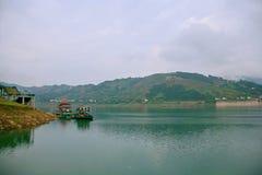 Galleria di Yichang Qingjiang Immagine Stock