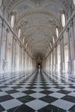 Galleria grande, Reggia di Venaria Reale Fotografía de archivo libre de regalías