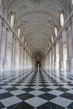 Galleria Grande, Reggia di Venaria Reale Royalty Free Stock Photography