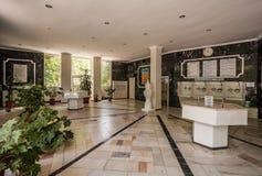 Galleria medica nel parco medico, Yessentuki 26 agosto 2016 fotografia stock libera da diritti