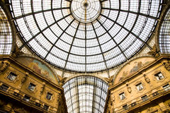 Galleria, Milan, Italy Royalty Free Stock Images