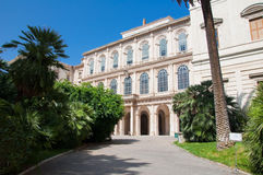 The Galleria Nazionale d'Arte Antica. Rome, Italy. Stock Photos