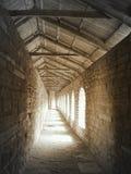 Galleria nella fortezza Fotografia Stock