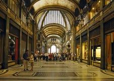 Galleria San Federico construeerde in 1932 Stock Afbeelding