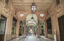 Galleria San Federico - San Federico Gallery, commercial building. TURIN,ITALY - JUNE 29, 2015. Galleria San Federico - San Federico Gallery, commercial building Royalty Free Stock Photo