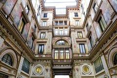Galleria Sciarra στη Ρώμη Στοκ εικόνα με δικαίωμα ελεύθερης χρήσης