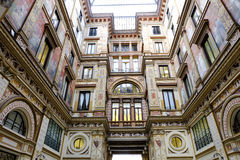 Galleria Sciarra in Rome Royalty Free Stock Image