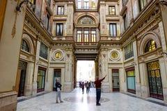 Galleria Sciarra in Rome Stock Photo