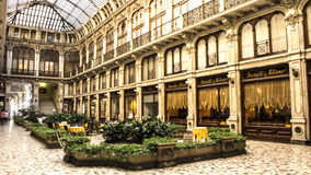 Galleria Subalpina Torino Italia Foto de archivo
