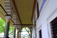 Galleria turca del palazzo Immagine Stock