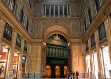 Galleria Umberto I Immagini Stock Libere da Diritti