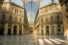 Galleria Umberto I Lizenzfreie Stockbilder