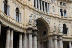Galleria Umberto I royalty-vrije stock foto