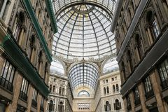 Galleria Umberto I In Naples, Italy Stock Photos