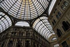 Galleria Umberto I stock fotografie