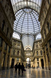 Galleria Umberto I, Naples Royalty Free Stock Photo
