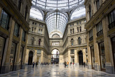 Galleria Umberto I, Naples Royalty Free Stock Photography