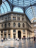 Galleria Umberto I, Naples, Italy Royalty Free Stock Images