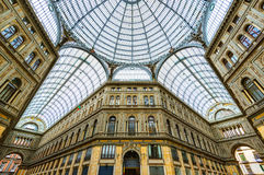 Galleria Umberto I in Naples Stock Photos