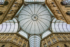 Galleria Umberto I in Naples Royalty Free Stock Image