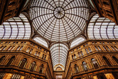 Galleria Umberto I in Naples Stock Photos