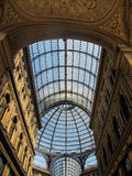 Galleria Umberto I, Naples, Italy Stock Images