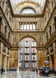 Galleria Umberto I in Naples Royalty Free Stock Photo