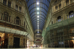 Galleria Umberto I, Naples Italy Royalty Free Stock Images