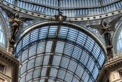 Galleria Umberto I, Neapel Stockbild