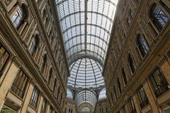 Galleria Umberto I, Neapel Stockfoto