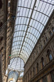 Galleria Umberto I, public shopping and art gallery in Naples, I Royalty Free Stock Photos