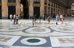 Shopping center Galleria Umberto, Naples, Italy Stock Image