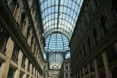 Galleria Umberto Stock Photography