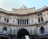 Galleria Umberto Ja Naples Zdjęcie Stock