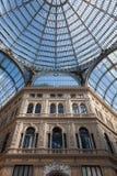 Galleria Umberto Ja w Naples Obrazy Stock