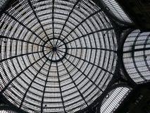 Galleria Umberto, lia del ¡de Napoli - de Ità Foto de archivo