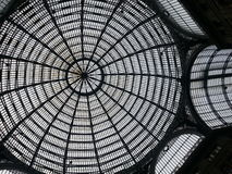 Galleria Umberto, lia van Napoli - van Ità ¡ Stock Foto