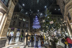 Galleria umberto naples Stock Image