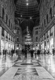 Galleria umberto naples Royalty Free Stock Photography